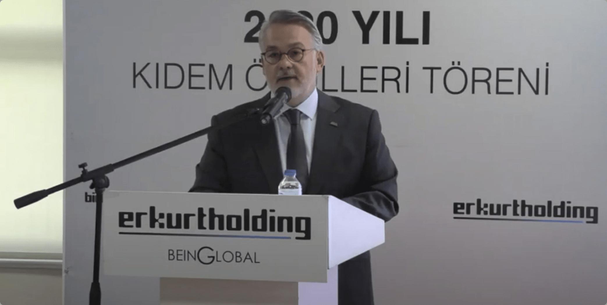 Erkurt Holding'in 2020 Yılı Kıdem Ödülleri Töreni
