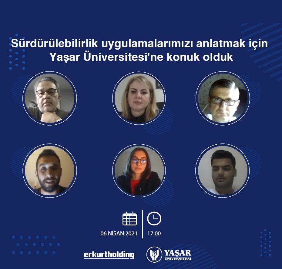 Yaşar Üniversitesi'nin Konuğu Olduk